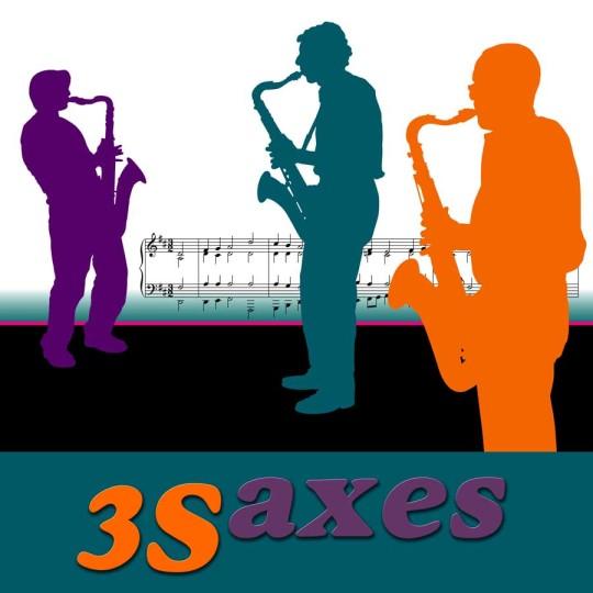 3 saxes