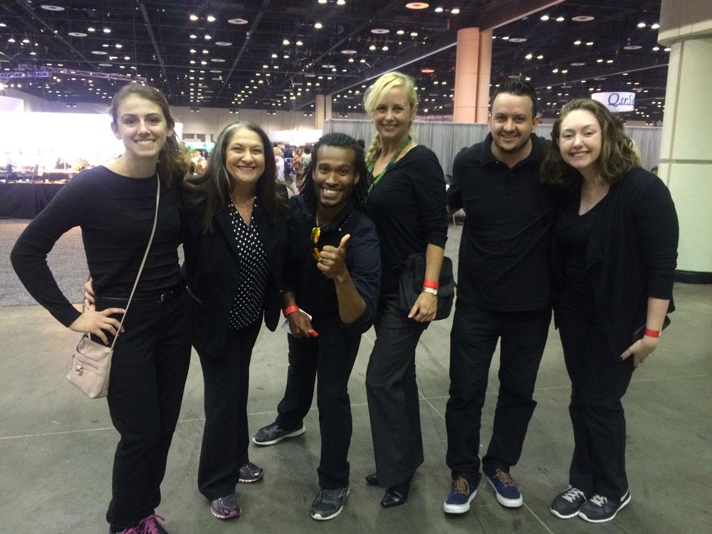 The T. Skorman production crew led by Connie Riley, CMP, CSEP